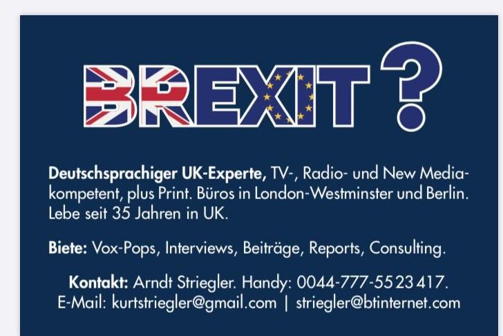 Brexit? Deutschsparchiger UK - Experte